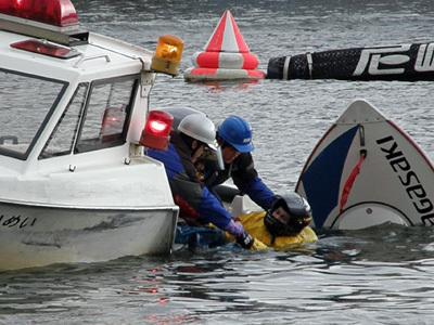 ボートレース事故のイメージ